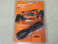 NEW GENUINE OEM KTM POWERPARTS HOUR METER MX ATV HOURMETER BY TRAIL TECH