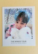 2017 Bangtan Boys BTS THE WINGS TOUR Official Ticket Album Photocard - Jimin