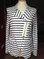 Armani Jeans Nautical Cotton Jacket UK 10-12 EU 44 Pristine