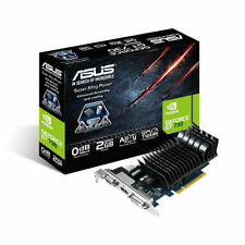 ASUS GeForce GT 730 2GB Graphics Card Silent, Passive, Dual Slot, PCIe 2.0