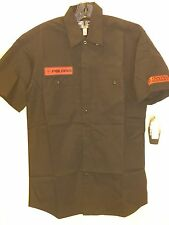 Women's Polaris Mechanics Shirt W/ Monogram Patches In Black (Size M) NWT