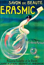Art Erasmic Soap Bathroom Deco Poster Print