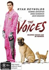 The Voices (Dvd) Ryan Reynolds, Anna Kendrick Comedy, Crime, Horror, Thriller