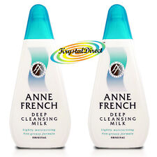 2x Anne French Face Facial Cleanser Cleansing Milk Ann