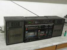BOOMBOX GHETTO BLASTER PORTABLE supertech radio COMPONENT vintage retro old