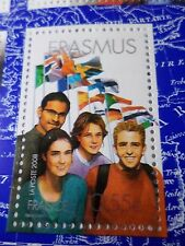 FRANCE, 2008, timbre 4248 PROJETS EUROPEENS, ERASMUS DRAPEAUX, neuf**, MNH STAMP