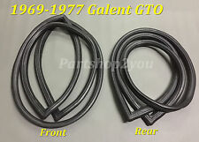 Mitsubishi COLT Galant GTO  FRONT & REAR windscreen WINDSHIELD seal rubber