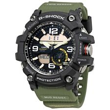 Casio G Shock Mudmaster Twin Sensor Military Analog Digital Watch GG1000-1A3