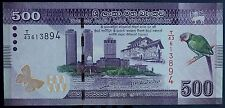 Sri Lanka 500 Rupees Banknote UNC UNCirculated World Paper Money Free Shipping