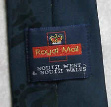 ROYAL MAIL SOUTH WEST WALES TIE VINTAGE RETRO 1990s COMPANY CORPORATE POST