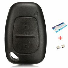 Remote Key Fob Case Shell Repair Kits For Renault Trafic Vivaro Master Kangoo