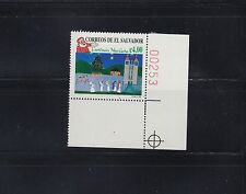 El Salvador 1998 Christmas Sc 1495-1496  Mint Never Hinged