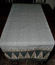 Bassetti Tischläufer Lampung V.6, ca 150x50 cm NEU 100% Baumwolle