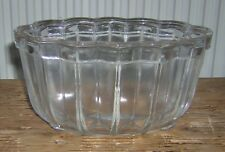 Vintage Glass Jelly Mould