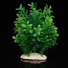 Gift Green Fake Plastic Water Plants for Fish Tank Aquarium Ornament