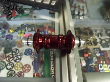 "PROFILE RACING MINI 3/8""---36H FRONT RED BMX BICYCLE HUB"