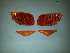 Ford Focus RS ST Mk1 Orange Indicator Lamp Set Front & Side Repeater Set