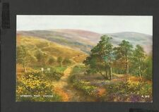 Valentine Vintage Colour Postcard Webbers Post Exmoor Devon posted 1971
