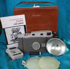 Vintage Polaroid 800 Land Camera With Leather Case