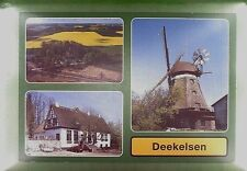 CPA Germany Deekelsen Boren Windmill Moulin Windmühle Molino Mill Wiatrak w374