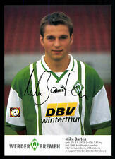Mike Barten Autogrammkarte Werder Bremen 1996-97 + A 100943 D