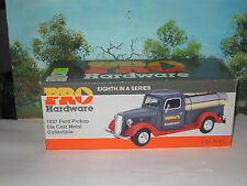 CROWN PREMIUMS 1/24 1937 FORD PICKUP DELIVERY TRUCK w/LOAD