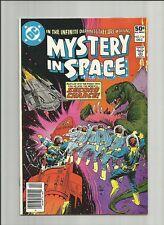 Mystery in Space 114 vfn/nm 1980 Hitler story Steve Ditko, Tom Yeates DC Comics