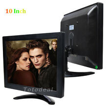 "10"" Color Monitor Screen High Sensitivity Multi language TFT LCD For PC CCTV Cam"