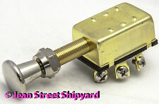 Marine Boat 3 Position Push Pull Switch Off On On New Style Knob Seachoice 11921