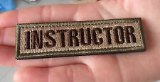 INSTRUCTOR TACTICAL USA ARMY COMBAT BADGE US MILITARY  SWAT   PATCH  SK 412