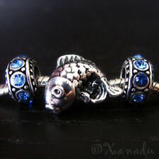 Asian Koi Fish European Bead And Birthstones For Charm Bracelets And Necklaces