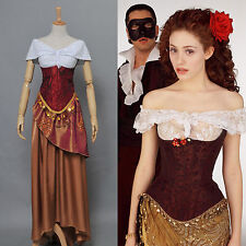 The Phantom of the Opera Christine Daae Dress Costume Cosplay*Custom Made*