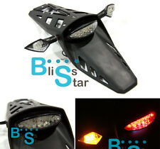 LED Dirt bike Rear Tail Light Turn Signals Kawasaki Kx klx klr kle zzr kdx