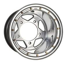"DWT Beadlock Billet Center VW Rear Wheel 17x14"" 14mm 5.5+8.5 Dune Buggy Sandrail"