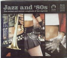 JAZZ AND '80S SEALED 3 CD SET NEW MADONNA THE CURE MICHAEL JACKSON U2 EURYTHMICS