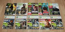 Magazin Heft Ausgabe Xbox XBG Games 360 Halo Splinter Cell Tomb Raider Prey etc