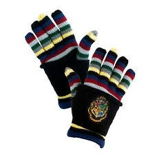 Wizarding World Of Harry Potter Hogwarts Striped Gloves Uniform Cosplay