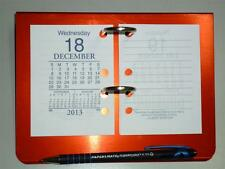 Ambassador desk top calender stand aluminium SIDE Punched for desktop calender