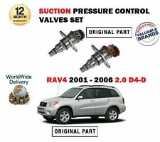 FOR TOYOTA RAV4 2.0TD D4D 2001-2006 NEW SUCTION PRESSURE CONTROL VALVE SET