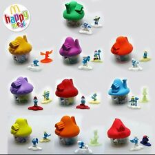 Smurfs The Lost Village McDonalds Happy Meal Toys EUROPE NEW 2017 FULL SET of 10