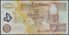 TWN - ZAMBIA 43f - 500 K. 2008 UNC Polymer - Pr. DK/03 - FREE SHIPPING over €150