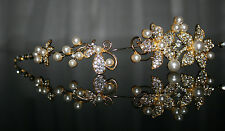 Bridal Hair Accessories Art Pearl Kristale Wedding Communion Headdress Typ2
