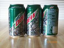 "2016  Mt. Dew ""Lost Camo"" 12 oz. Ltd. Edition Camo Can...bottom opened"
