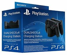 ORIGINAL SONY PLAYSTATION 4 LADESTATION FÜR 2 CONTROLLER PS4 DUAL CHARGE