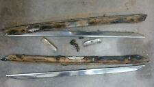 79-83 DATSUN 280ZX (2) T-TOP T TOP STAINLESS STEEL TRIM 2 SEAT NICE OEM PART