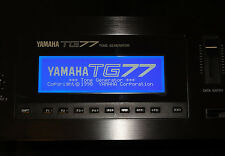 NEW LCD Blue display for Yamaha TG77 Synth DIY Replacement Repair