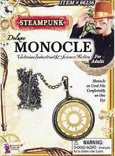 VICTORIAN EDWARDIAN STEAMPUNK GENTLEMAN'S FANCY DRESS COSTUME MONOCLE 1920s 20s