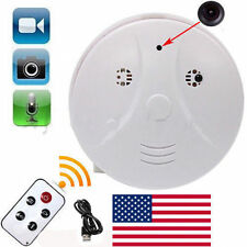 Digital Mini HD Hidden Camera Smoke Detector Motion DVR Video Cam Nanny + Remote