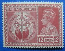 1946 INDIA 12A SCOTT# 198 S.G.# 281 UNUSED NH  CS11388