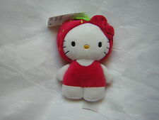 H&M/ SANRIO  Stofftier KATZE HELLO KITTY Erdbeere Kostüm rot Kapuze *NEU+ Etik.*